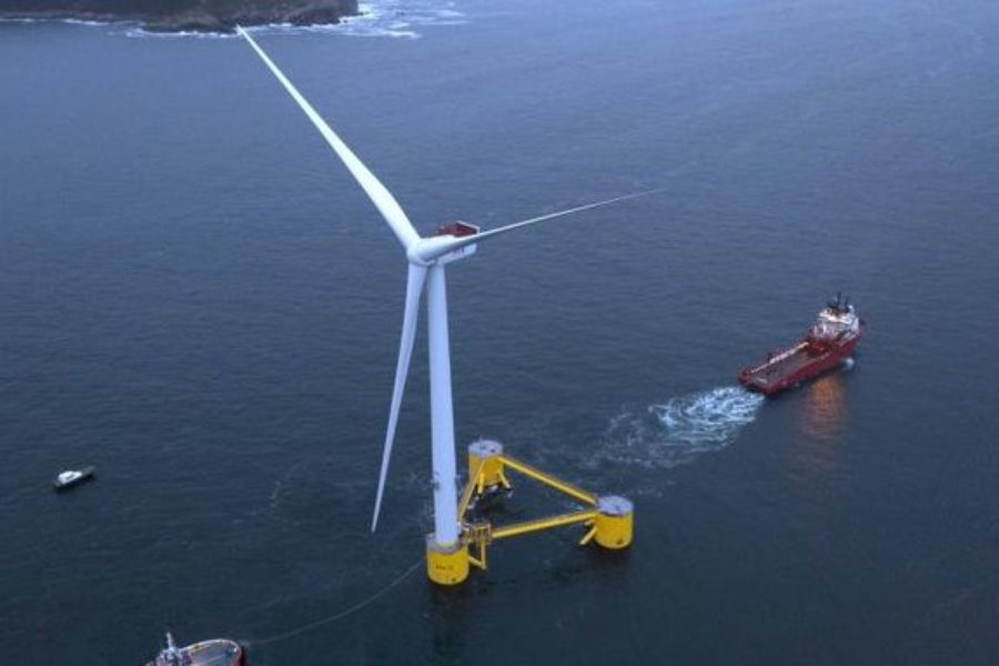 The World's Largest Floating Wind Farm Is Already Hard at Work
